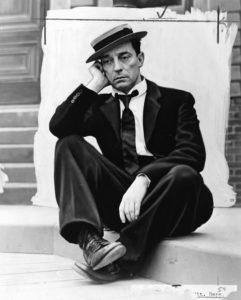 Buster Keaton i hatt