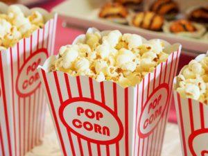 Popcorn i bägare