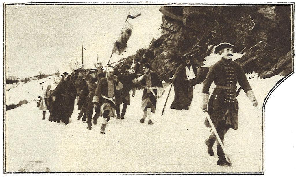 Scen ur filmen Karl XII